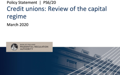 Review of Credit Union Capital Regime